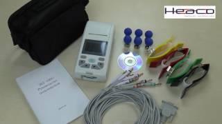 Электрокардиограф HEACO 100G  обзор(Обзор электрокардиографа HEACO 100G. Портативный и функциональный кардиограф для максимальной мобильности!, 2016-06-03T07:41:38.000Z)