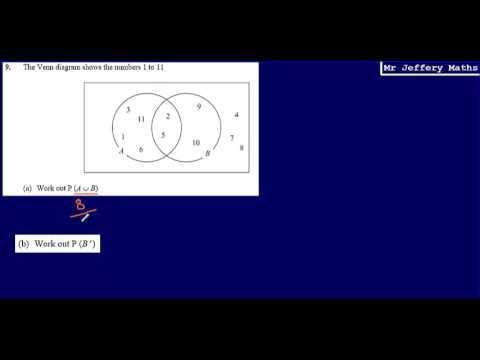 9 Venn Diagrams Gcse Maths Edexcel Practice Tests Set 4 1h