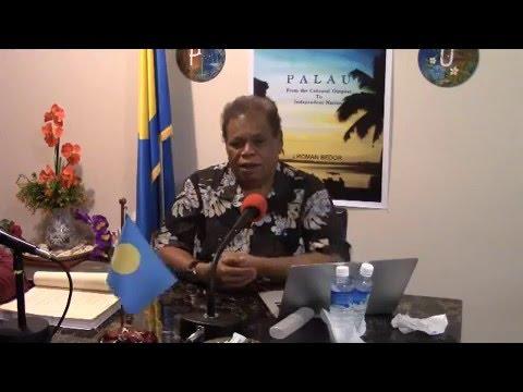 """""""Palau"""" Author Ngirakebou on Palau Wave Radio (7/02/2015)"""