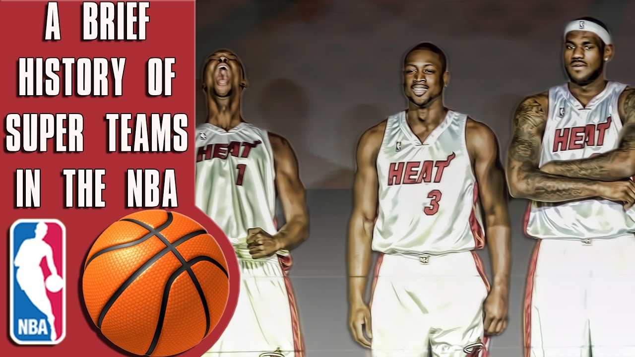 The recent, confusing history of NBA super teams