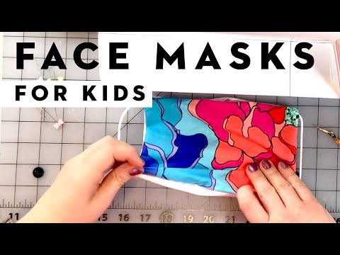 4 Ways To Sew a Face Mask (with Kid Filter Variations) from YouTube · Duration:  7 minutes 13 seconds