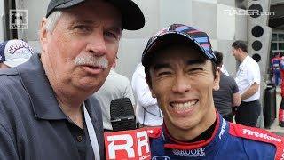 Indy 500: Winner Takuma Sato with RACER