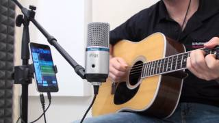 iRig Mic Studio - Ultra-portable large-diaphragm microphone for iPhone, iPad, Mac/PC & Android