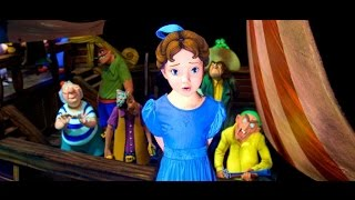 New Peter Pan's Flight Full Ride POV with new Effects (HD) - Disney World Ride