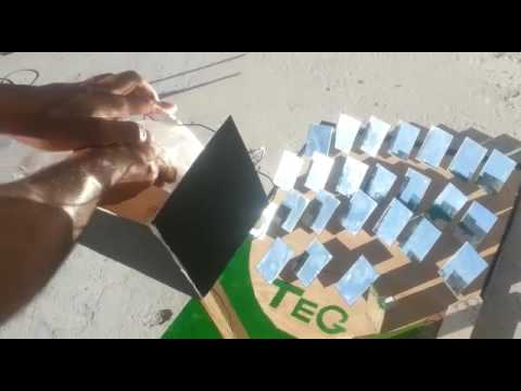Thermoelectric generator TEG charging phone by sun heat ! hijjawi faculty for engineering