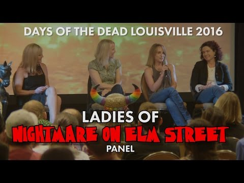 Ladies of Nightmare on Elm Street Panel  DOTD Lousiville 2016