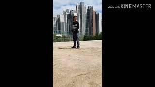 [투수연습]투구연습2탄[ 옆모습]