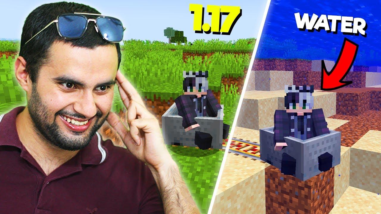 DOING ILLEGAL THINGS IN MINECRAFT 1.17