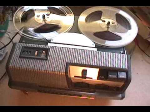 Vintage 1957 Revere T700D Reel to Reel tape recorder  YouTube