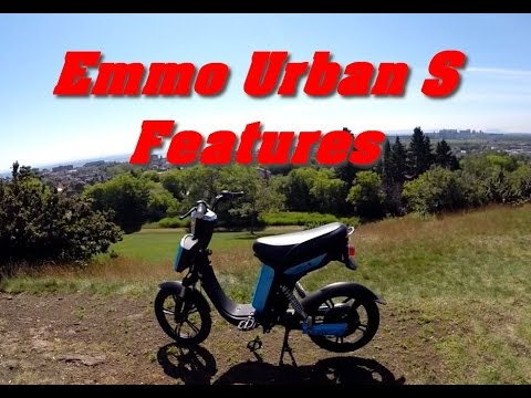 Emmo Urban S Electric E-scooter Features And Overview.