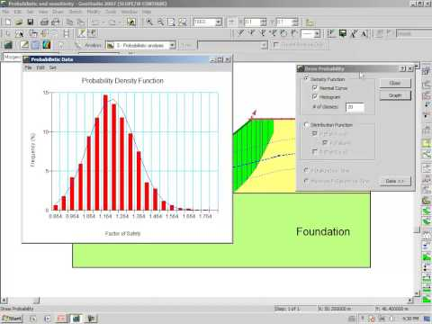 SLOPE/W Session 12: Probabilistic Analysis