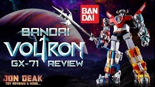 BANDAI - VOLTRON GX-71 FIGURE ( REVIEW )