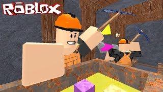 KAZI ÇALIŞMALARI TÜM HIZIYLA DEVAM EDİYOR | Roblox | Mining Simulator #4