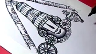 How to Draw LORD VENKATESWARA DRAWING step by step for KIDS