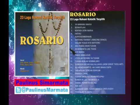 Lagu Katolik  23 Lagu Nyanyian Rohani  Bunda Maria   ROSARIO   YouTube