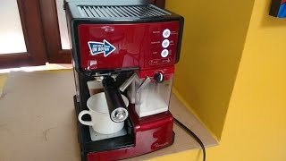 Manejo cafetera Oster prima latte disponible en Acero Hogar WhatsApp +57 3016313070.