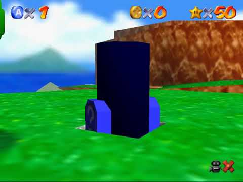 [SM64-1L1A] Mario Wings to the Sky (1m05s -0.5xA)