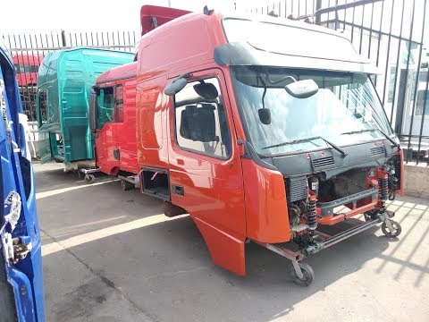 Разборка грузовиков в Москве | Кабина Volvo Man Daf Scania Mercedes Renault