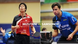 Vladimir SAMSONOV - Jun MIZUTANI. Russian Men's Premier League 2014-2015. II tour(Russian Men's Premier League 2014-2015. II Tour, Saint Petersburg, December 21, 2014. Sport Hall