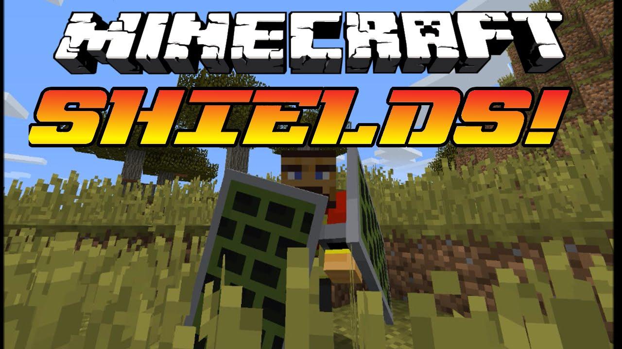 Minecraft 1 9 Update - New Shields Snapshot  Custom Designs  New Combat System