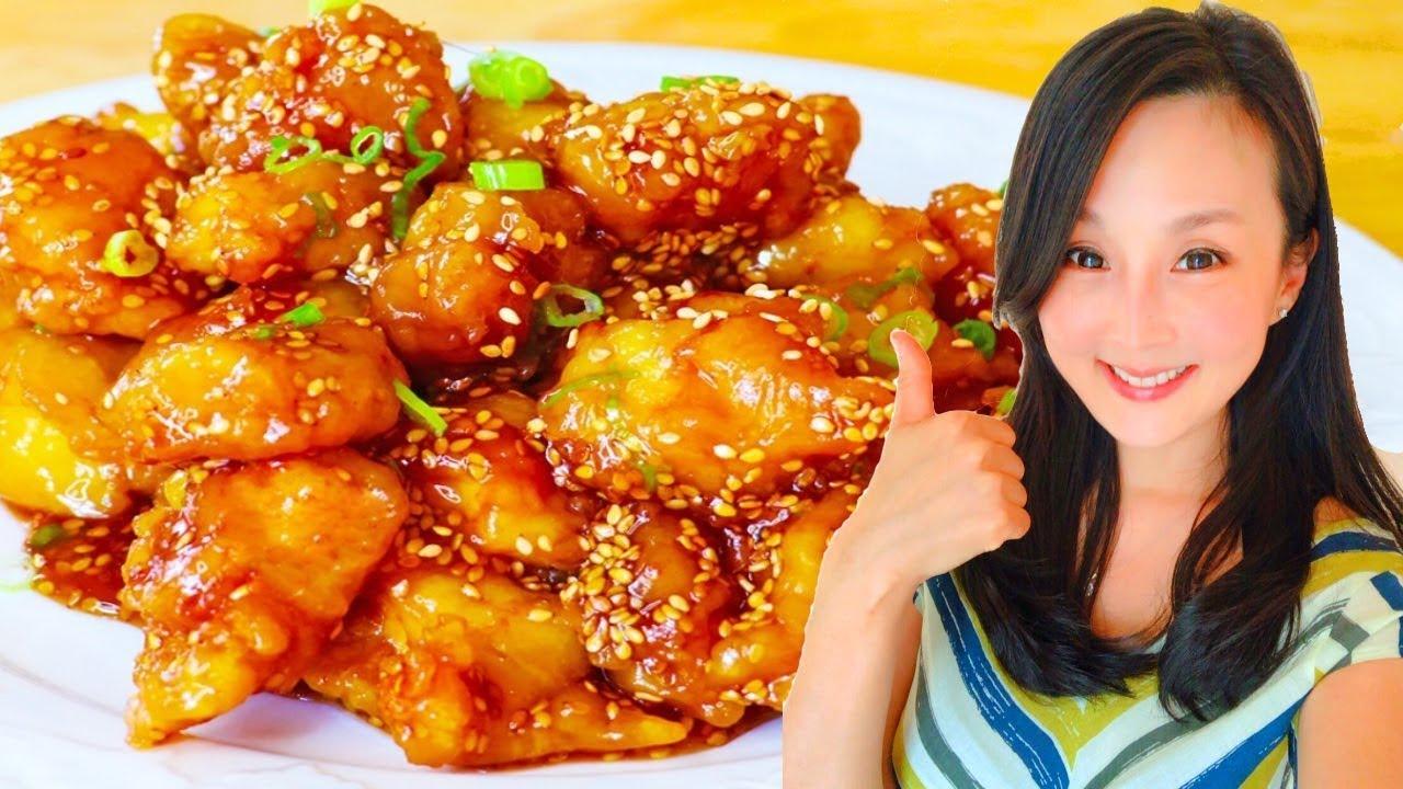 美式芝麻雞 ~ 美國人最愛的中國菜!【美食天堂】家常料理食譜 一學就會 - YouTube
