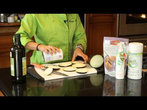 Cooking Eggplant in Olive Oil in the Skillet : Healthy & Delicious Food