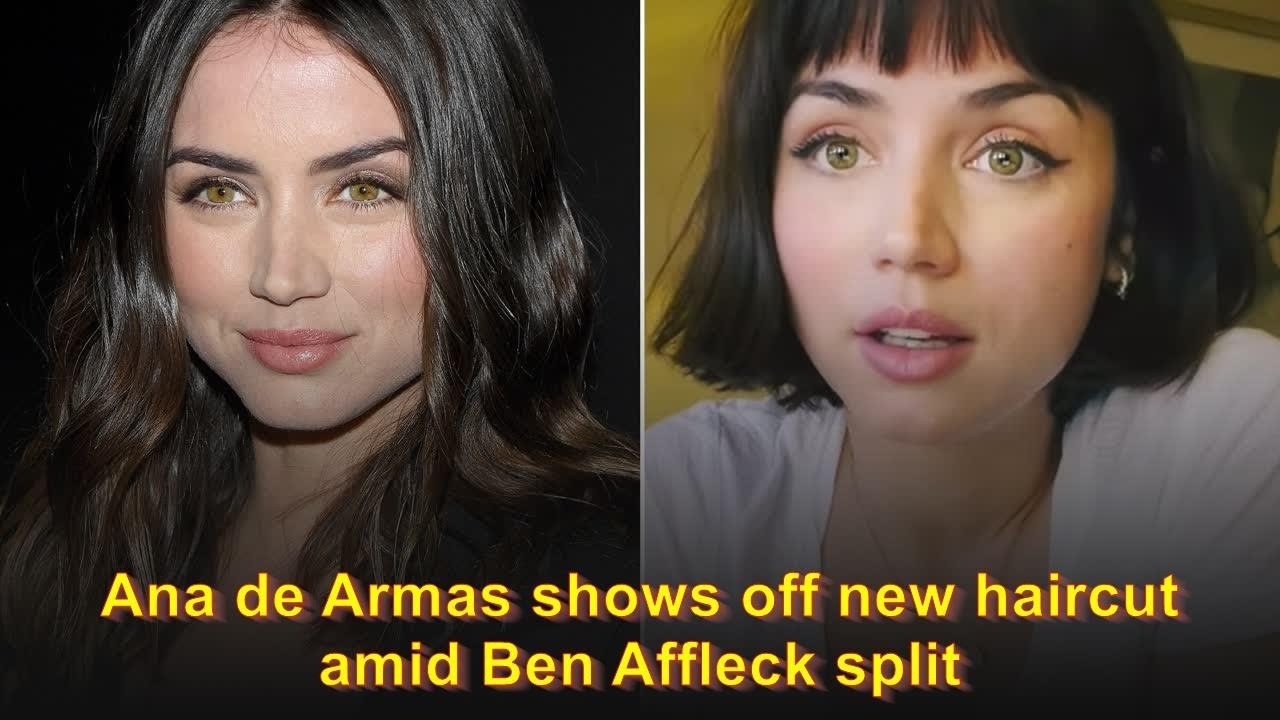 Ana de Armas shows off new haircut amid Ben Affleck split