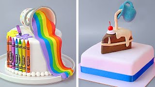 Top Fondant Cake Compilation | Easy Cake Decorating Ideas | So Tasty Cakes Recipes
