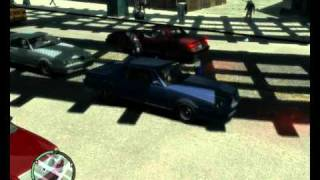 Grand Theft Auto IV Gameplay [MAXED OUT almost] HD 4850 512mb