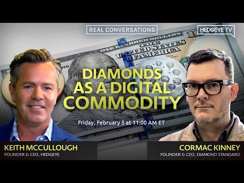 McCullough \u0026 Kinney: Diamonds As A Digital Commodity