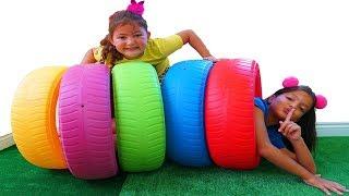 Peek A Boo Song Nursery Rhymes for kids - fun video