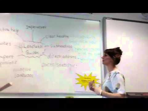 GCSE English Revision Writing a leaflet or guide - YouTube