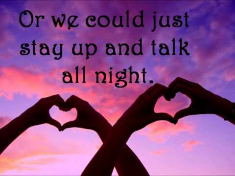 Like To Be Loved by Goodnight Fellows Lyrics