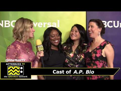NBCUniversal Winter Press Tour 2018 - Interview with the cast of A.P. Bio