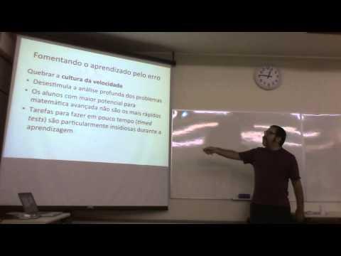 """Seminário-Almoço do EAE: Eduardo Valle, """"Como Aprender Matemática"""" de Jo Boaler"""