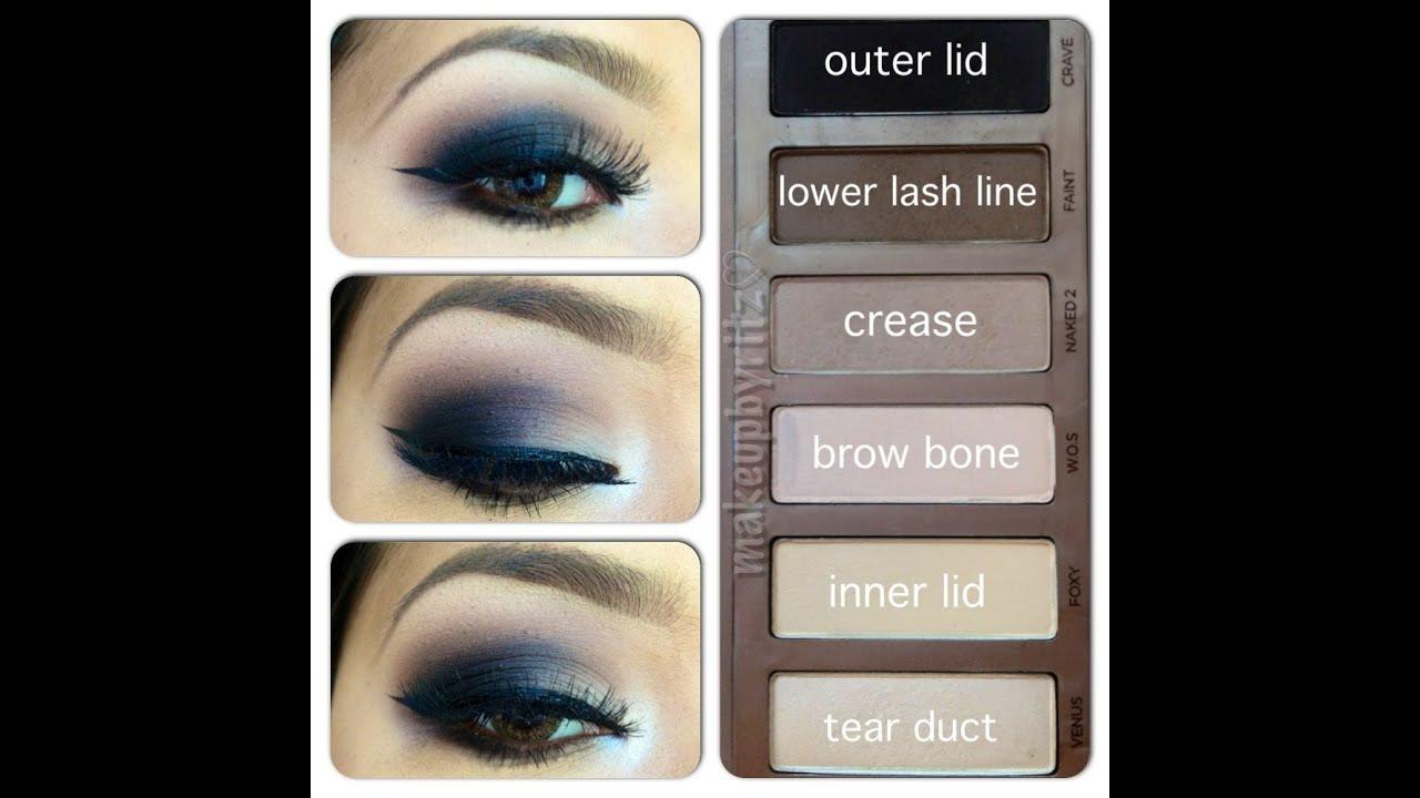 Naked Basics Mini Review & Smokey Eyes Tutorial | makeupbyritz ...