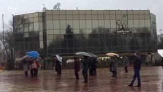 Дождь испортил праздник дончанам накануне Рождества