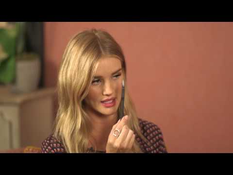 In The Bathroom With Rosie Huntington-Whiteley