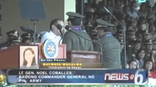 Lt  Gen  Noel Coballes, bagong commander general ng Phil  Army