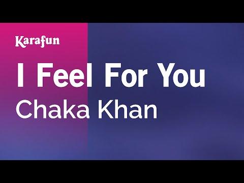 Karaoke I Feel For You - Chaka Khan *