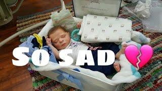 SAD REBORN BOX OPENING! SO HEARTBROKEN! NEW GIVEAWAY BABY