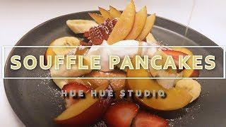 Japanese Souffle Pancake[RECIPE] スフレパンケーキ수플레 팬케이크