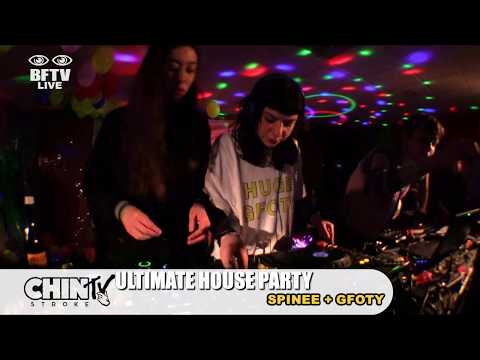 GFOTY and Spinee Live at the Chin Stroke House Party