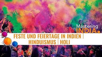 Das Indische Farbenfest Holi - Ursprung und Bedeutung