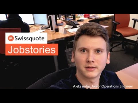 Junior Operations Engineer by Aleksandar - Swissquote Jobstories