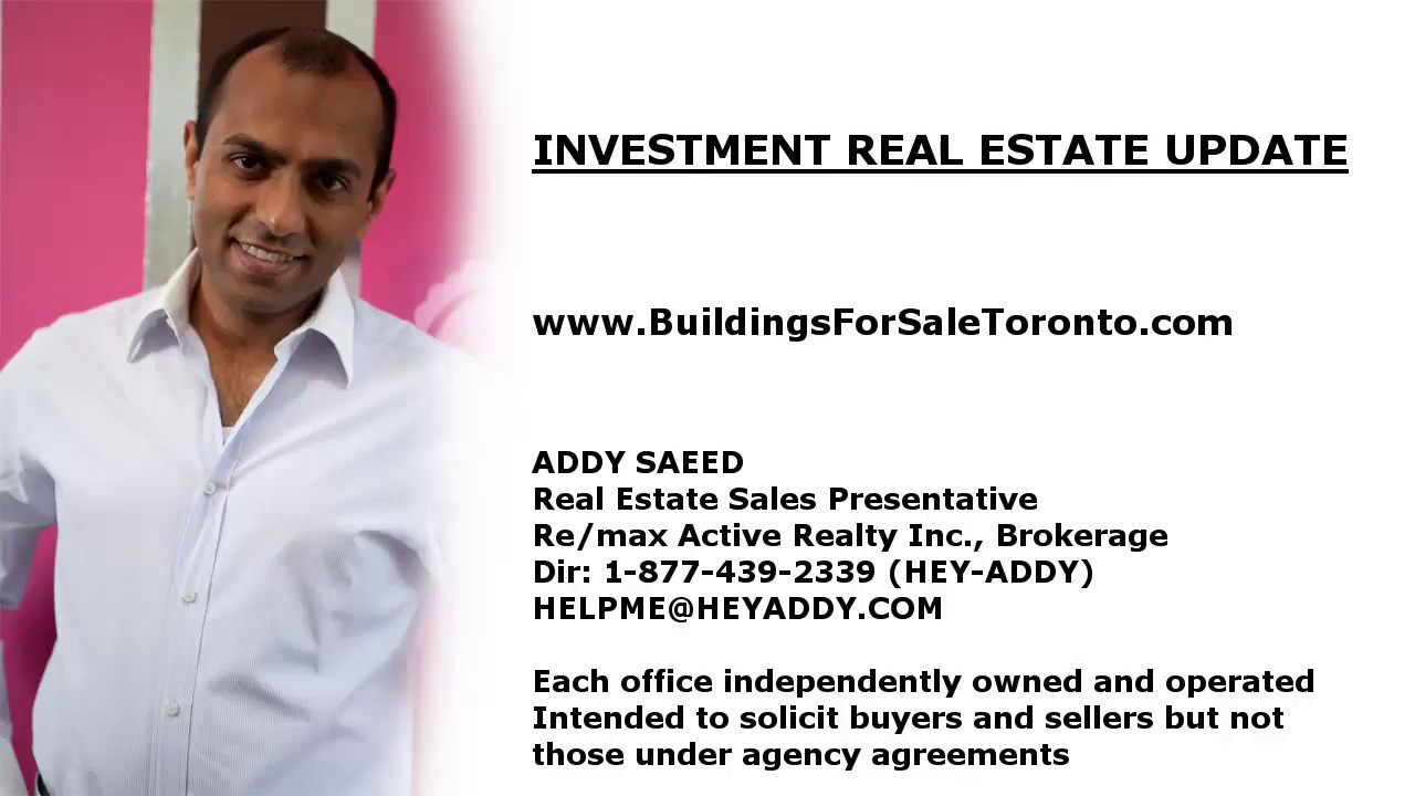Apartment Building for sale in Scarborough Toronto Real ...