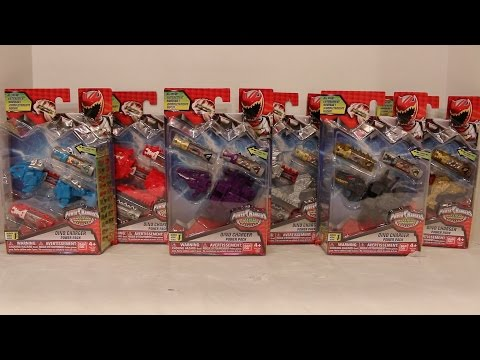 Dino Charger Power Packs Series 1 Review [Power Rangers Dino Super Charge]