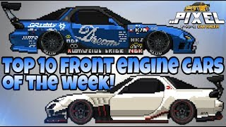 Pixel Car Racer: Your Top 10 best FRONT ENGINE CARS of the week! #29