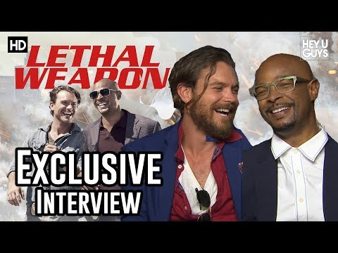 Damon Wayans & Clayne Crawford Lethal Weapon TV Show Exclusive Interview