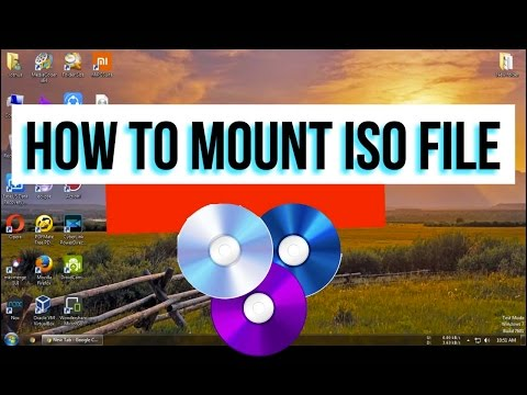 How to mount  ISO, CUE, NRG, MDS/MDF, CCD, IMG images